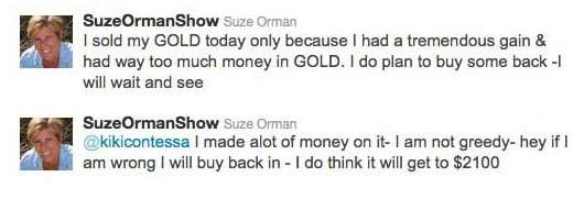 Suze Orman